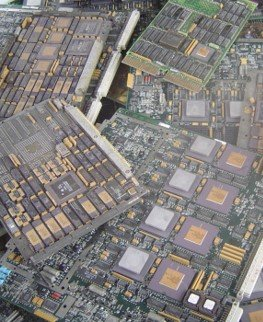 Recycling IC Chips